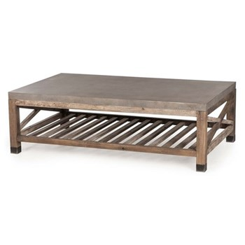 Percival Coffee table, H45 x W120 x D70cm, wood