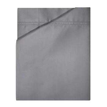 Triomphe King size flat sheet, 270 x 310cm, platinum