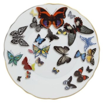 Christian Lacroix - Butterfly Parade Set of 4 bread plates, 20.8cm