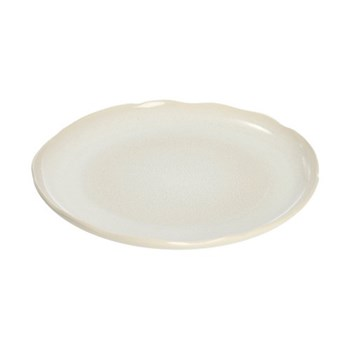 Plume Oval dish, 55 x 27.5cm, white pearl