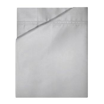 Triomphe King size flat sheet, 270 x 310cm, silver