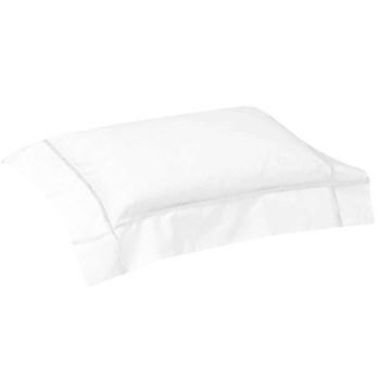 Athena Oxford pillowcase, 30 x 40cm, white on white