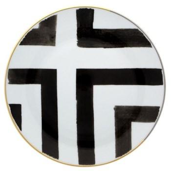 Christian Lacroix - Sol Y Sombra Set of 4 bread plates, 19.7cm