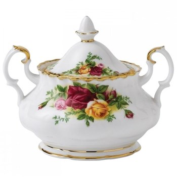 Old Country Roses Covered sugar bowl, 27cl