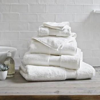 Egyptian Cotton Bath sheet, 100 x 150cm, white