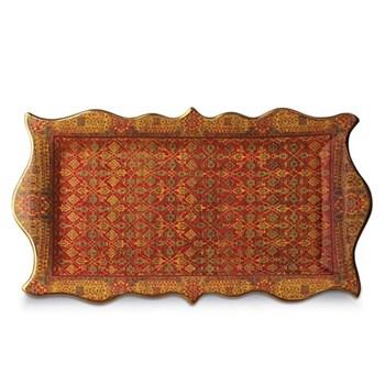 Tabriz Rectangular platter, 41 x 23cm