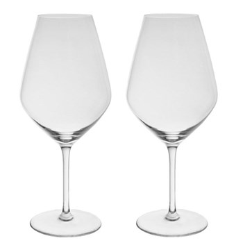 Patrick Guilbaud Pair of Bordeaux glasses