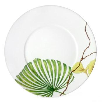 Ikebana - Envie Dessert plate, 21.5cm, Palme