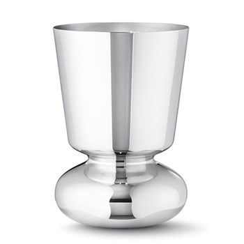 Alfredo Vase small, 22cm, mirrored stainless steel