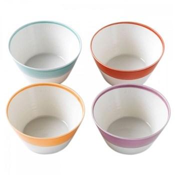 1815 Set of 4 cereal bowls, 15cm, brights
