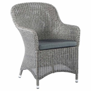 Armchair with cushion H90 x W62cm