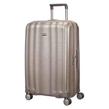 Lite-Cube Spinner suitcase, 76cm, ivory gold