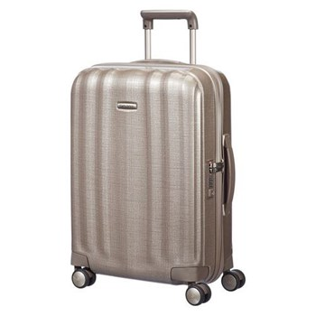 Lite-Cube Spinner suitcase, 55cm, ivory gold