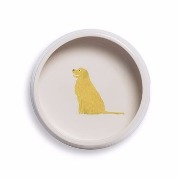 Mans's Best Friend Dog bowl, D18 x H6cm, Golden Retriever