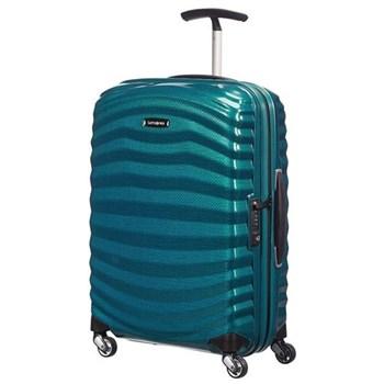Lite-Shock Spinner suitcase, 55cm, petrol blue