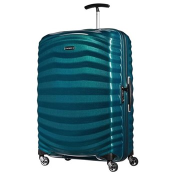 Lite-Shock Spinner suitcase, 81cm, petrol blue