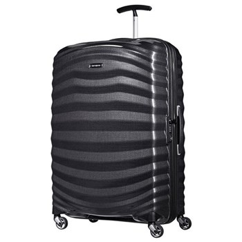 Lite-Shock Spinner suitcase, 75cm, black