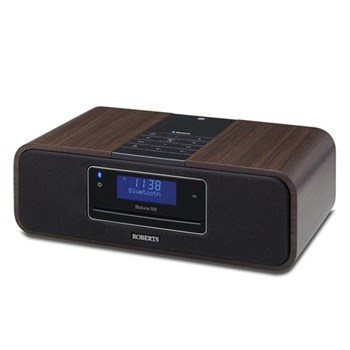 Blutune 100 Sound system with DAB/FM/CD and Bluetooth, black