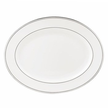 Federal Platinum Oval platter, 33cm