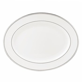 Federal Platinum Oval platter, 41cm