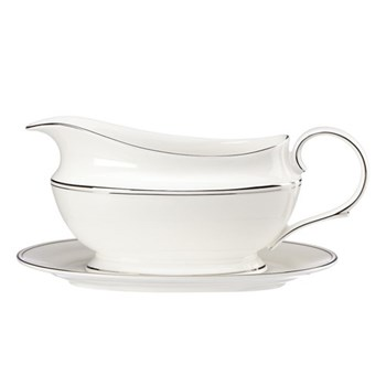 Federal Platinum Sauce boat and stand