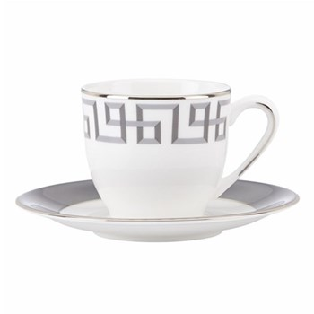 Darius Silver by Brian Gluckstein Espresso cup and saucer