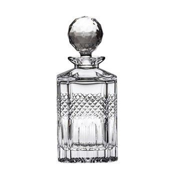 Square spirit decanter 75cl