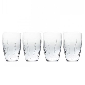 John Rocha - Weft Set of 4 tumblers