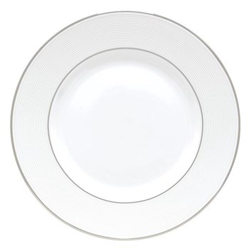 Opal Innocence Stripe Dinner plate, 27cm