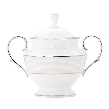 Opal Innocence Stripe Sugar bowl, 13cm