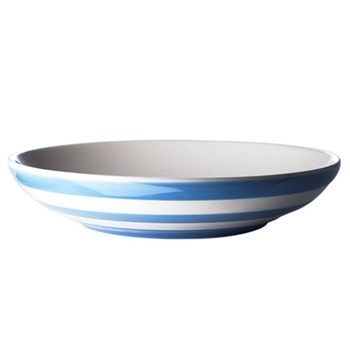 Pair of pasta bowls, 24cm, blue