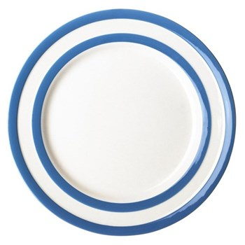 Set of 4 breakfast plates, 22.8cm, blue