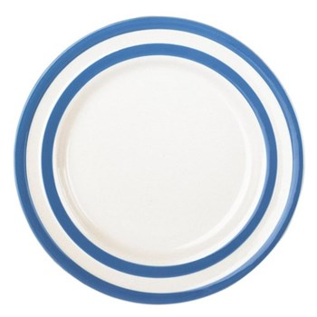 Set of 4 side plates, 17.8cm, blue