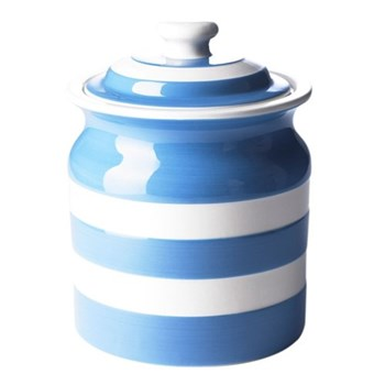 Plain storage jar, 84cl, blue