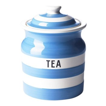 Tea storage jar, 84cl, blue
