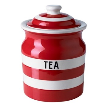 Tea storage jar, 84cl, red