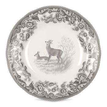 Delamere Rural - Deer Set of 4 tea plates, 15cm