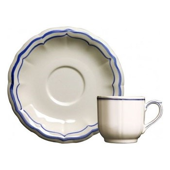 Coffee cup and saucer 8.5cl - 14cm