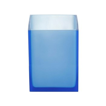 Hollywood Trash bin, W18 x D18 x H24cm, blue
