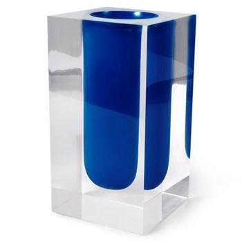 Test Tube Vase, cobalt blue