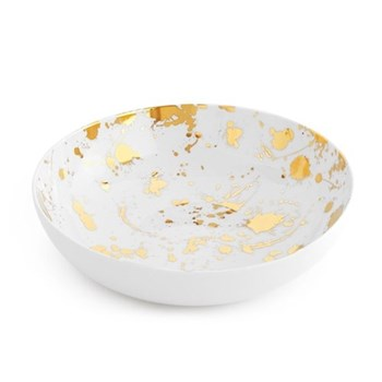 1948° Salad bowl, gold/white