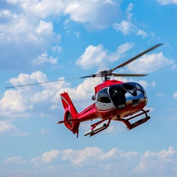 Helicopter trip for two