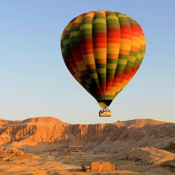 Hot air balloon trip for two