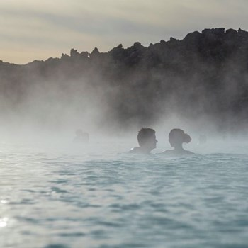 Hot springs experience for two