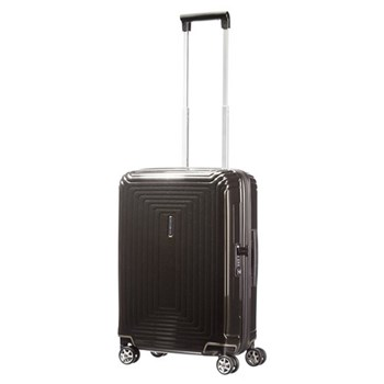 Neopulse Spinner suitcase, 55cm, metallic black