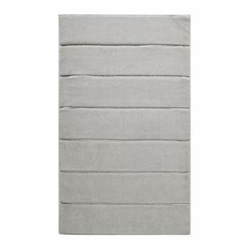 Adagio Bath mat, 60 x 100cm, silver grey