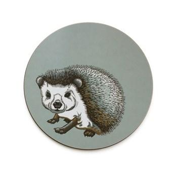Faunus Coaster, 10cm, Hedgehog