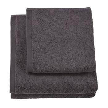 London Bath towel, 70 x 130cm, graphite