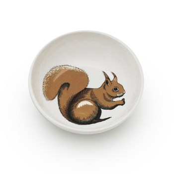Faunus Small bowl, 10.5cm, Squirrel