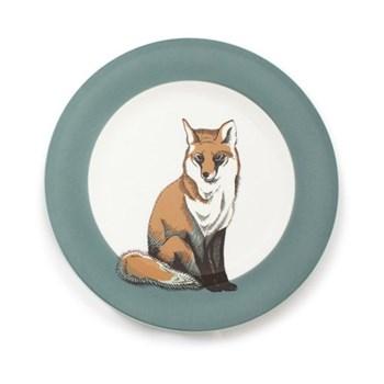 Faunus Plate, 23cm, Fox